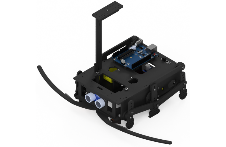 """<h2>HexaWalker<span>(2017)</span></h2> <p>180x160 mm, No Wheels (I got 6 legs), Uno Clone, WiFi, 6x AAA Battery Holder...</p><a href=""""index.php?route=product/category&path=20""""></a>"""