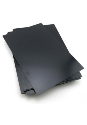 High Impact Polymer Plastic Sheet - Black